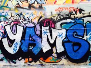 street art - yams
