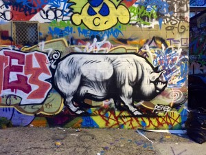 baltimore street art - graffiti pig (2)