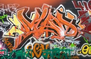 baltimore street art - mad graffiti alley