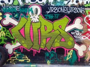 baltimore street art - virs graffiti