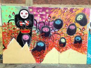 baltimore street art - faces