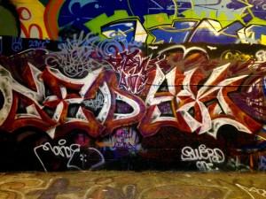 baltimore street art - graffiti alley