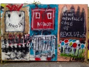 baltimore street art - robot