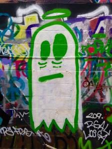 baltimore street art - angel