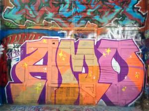 baltimore street art - amo