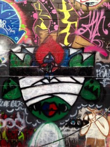 baltimore street art - mummy