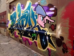 baltimore street art - sick