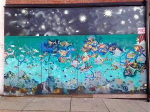 baltimore street art - fish mural