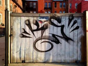 baltimore street art - tag