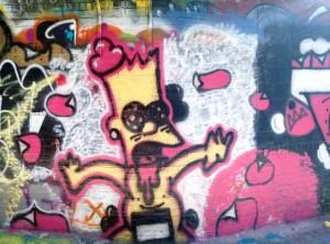 baltimore street art - cartoon character