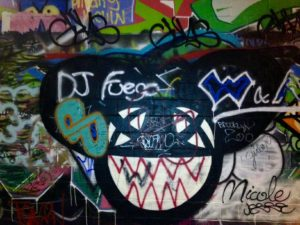 baltimore street art - dj fuego