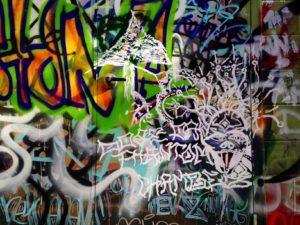 baltimore street art - face