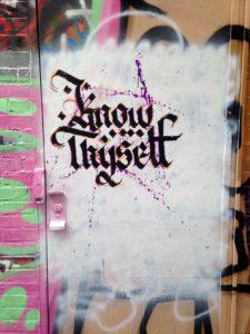 batlimore street art - know thyself