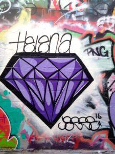 baltimore street art - helena