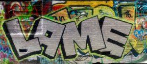 baltimore street art - lame