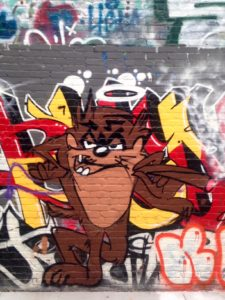 baltimore street art - taz