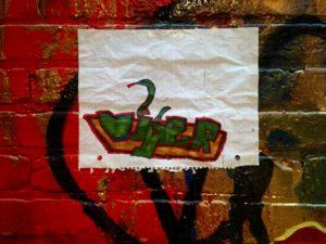 baltimore street art - viper