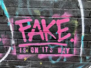FAKE is on its way